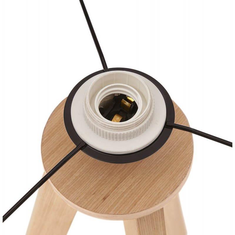 Lampe de table sur trépied scandinave TRANI MINI  (noir) - image 28542