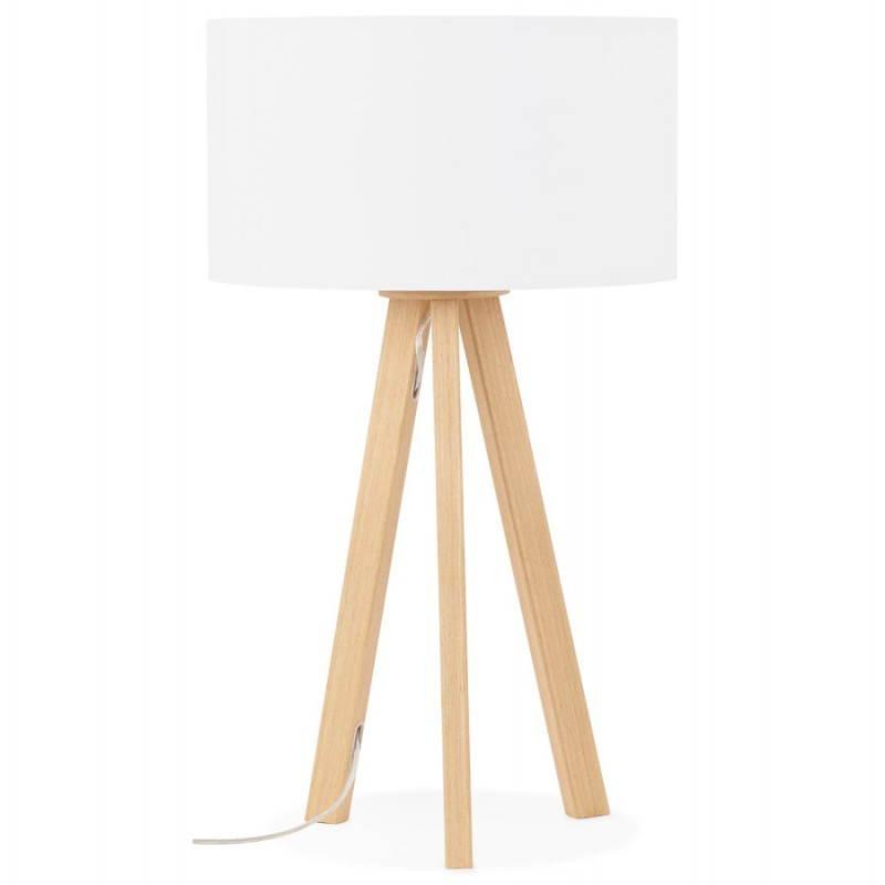 Lampe de table sur trépied scandinave TRANI MINI  (blanc) - image 28566