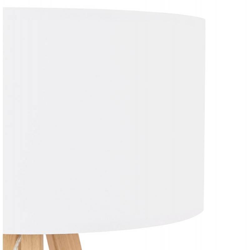 Lampe de table sur trépied scandinave TRANI MINI  (blanc) - image 28567