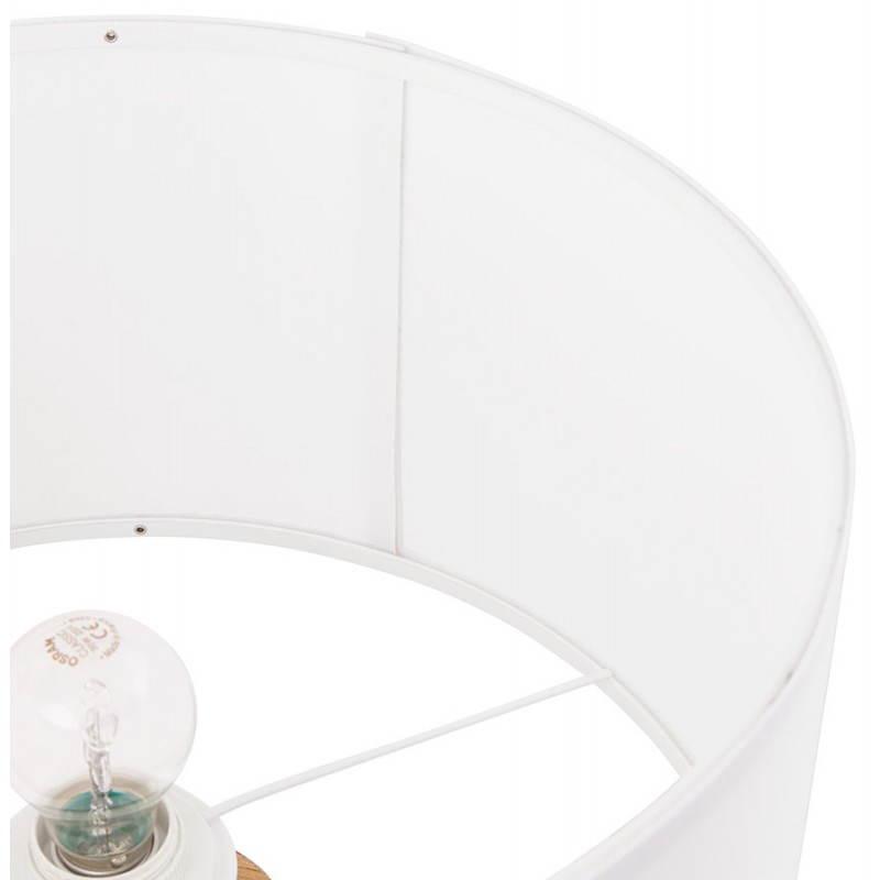 Lampe de table sur trépied scandinave TRANI MINI  (blanc) - image 28570