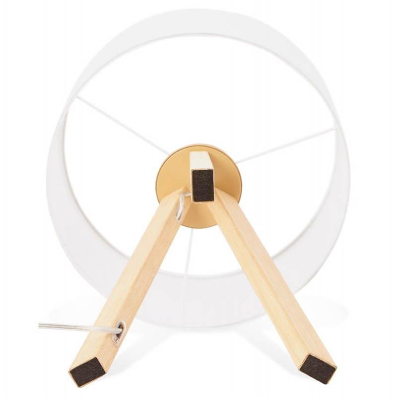 Lampe de table sur trépied scandinave TRANI MINI  (blanc) - image 28574