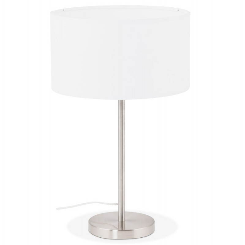 lampe de table design r glable en hauteur latium en tissu. Black Bedroom Furniture Sets. Home Design Ideas