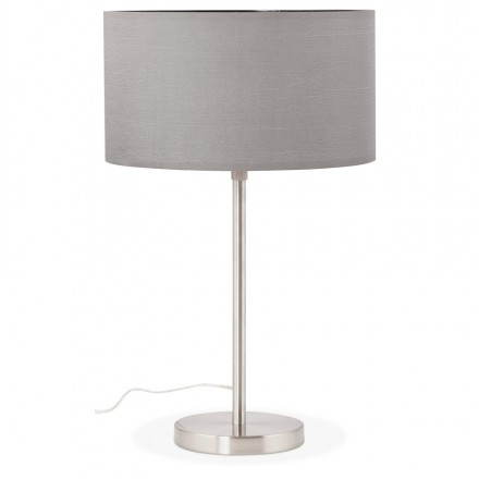 Table lamp design adjustable in height LAZIO (grey)