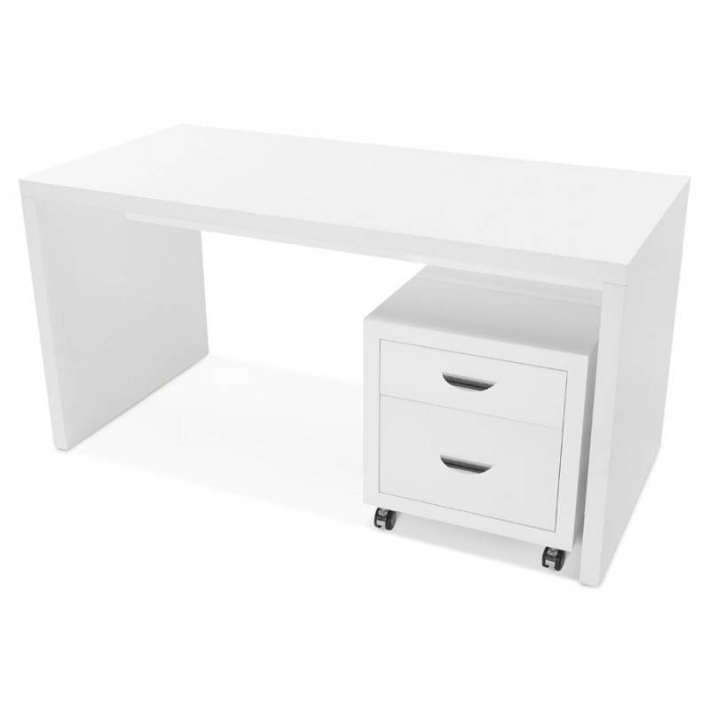 Right office design NAVIGO wooden (painted white) - image 28722
