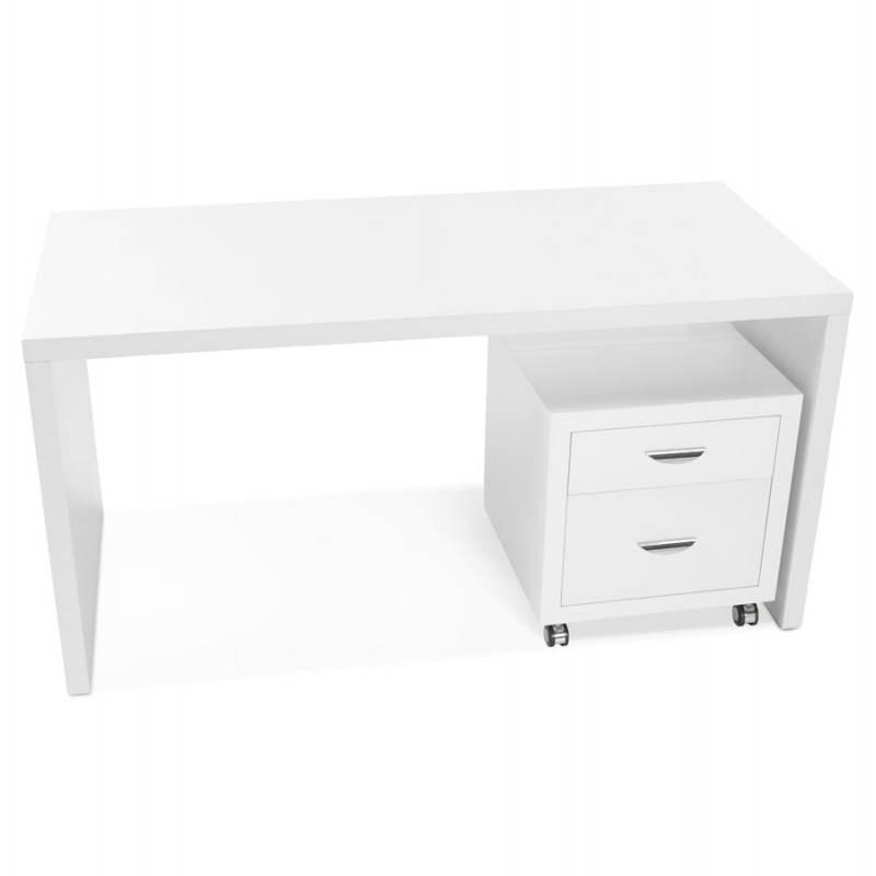 Right office design NAVIGO wooden (painted white) - image 28723