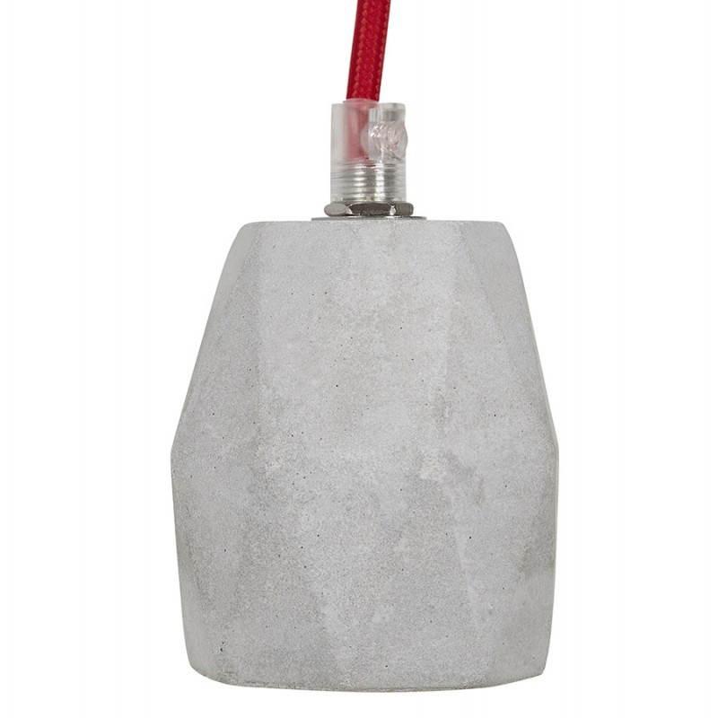 Presa sospensione lordo effetto design (grigio) cemento - image 28750
