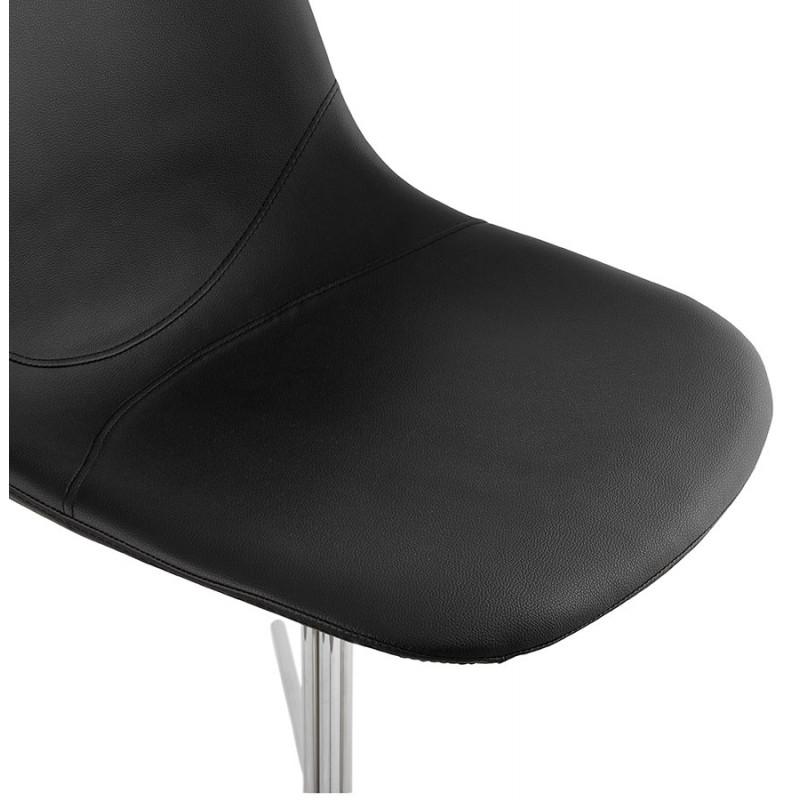Chaise design OFEN en polyuréthane et métal chromé (noir, chrome) - image 29041