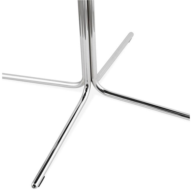 Chaise design OFEN en polyuréthane et métal chromé (noir, chrome) - image 29046