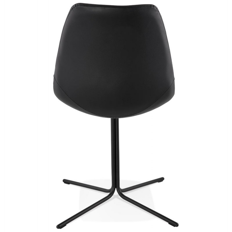 Chaise design OFEN en polyuréthane et métal peint (noir) - image 29053
