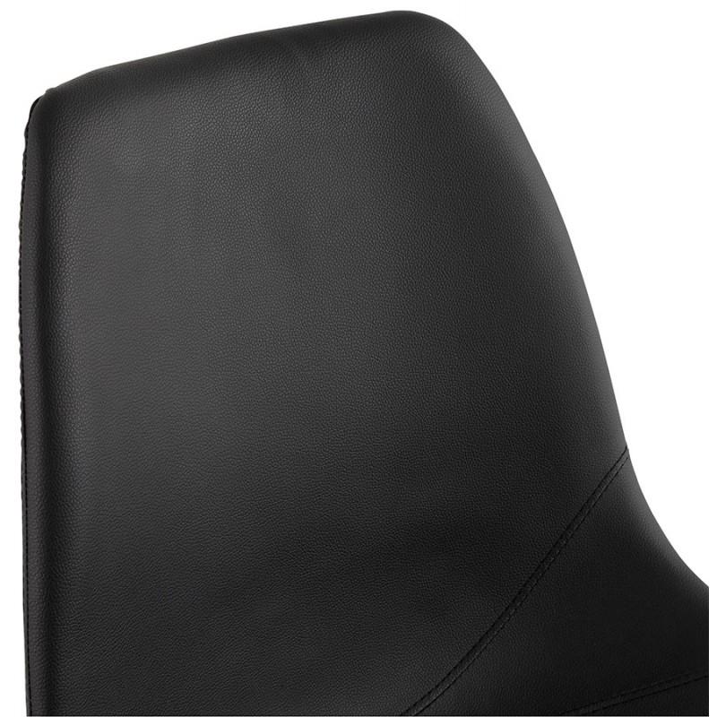 Chaise design OFEN en polyuréthane et métal peint (noir) - image 29055