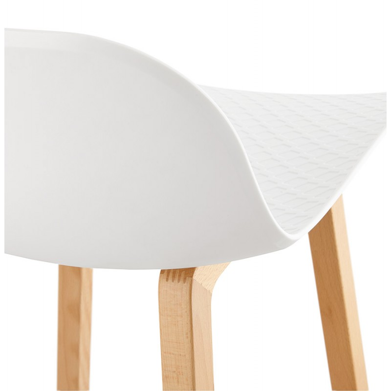 bar de MINIblancTabourets de de bar chaise bar scandinave hauteur Tabouret SCARLETT design mi R54j3AL