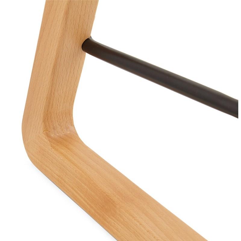 Tabouret de bar chaise de bar mi-hauteur scandinave SCARLETT MINI (blanc) - image 29073