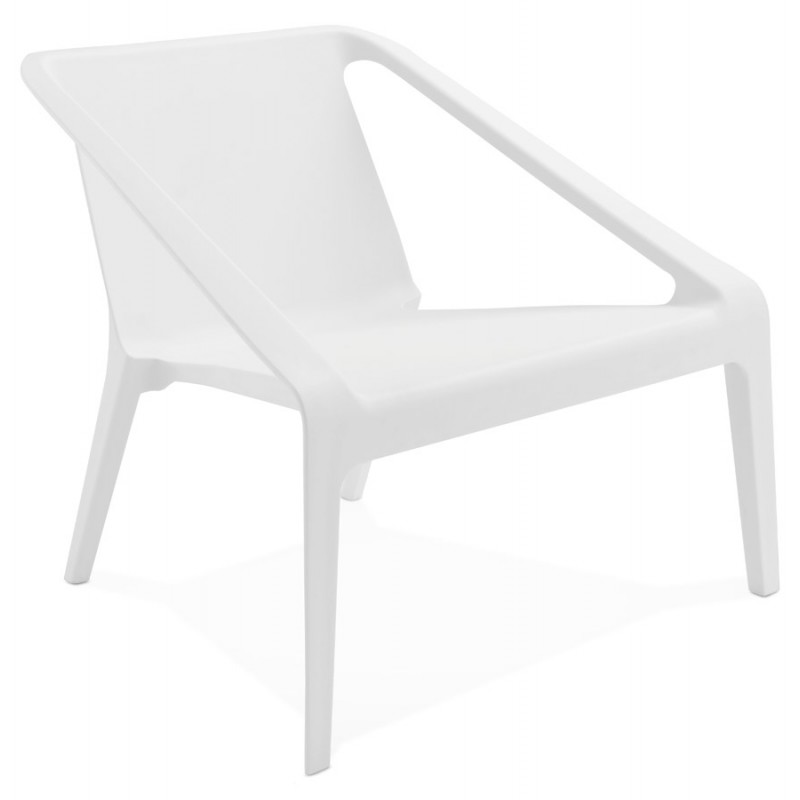 fauteuil de jardin relax design suny blanc. Black Bedroom Furniture Sets. Home Design Ideas