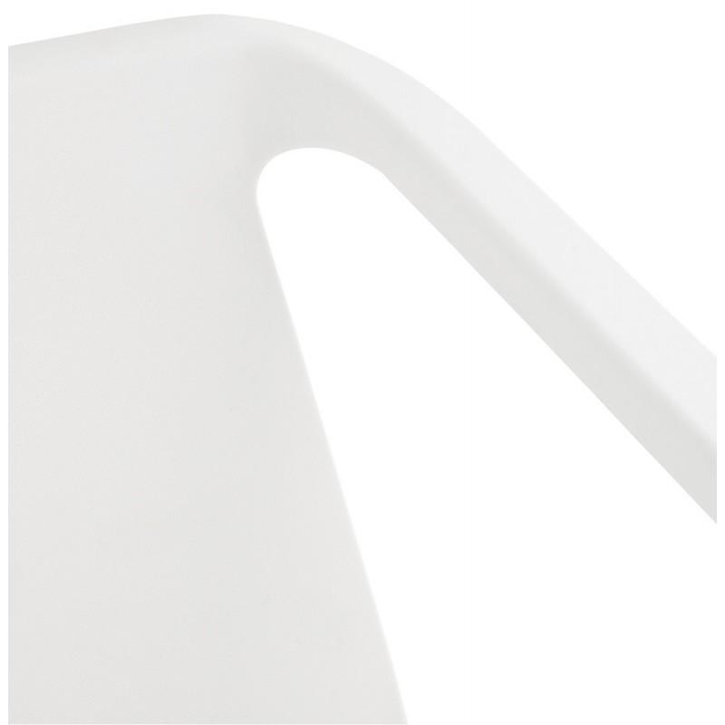 Fauteuil de jardin relax design SUNY (blanc) - image 29152