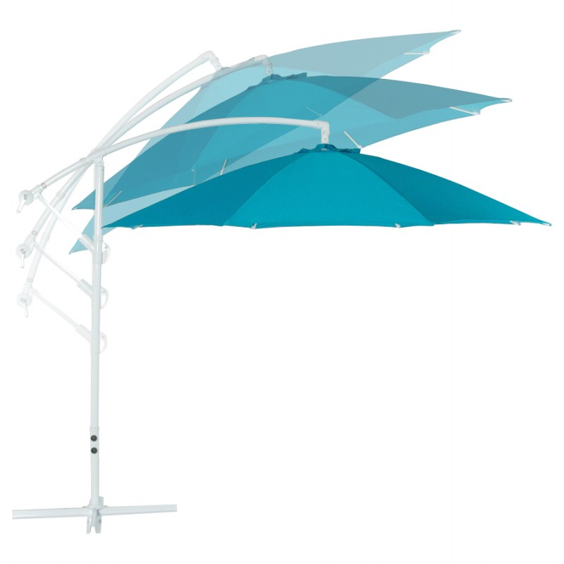 parasol d port octogonal alice en polyester et aluminium. Black Bedroom Furniture Sets. Home Design Ideas