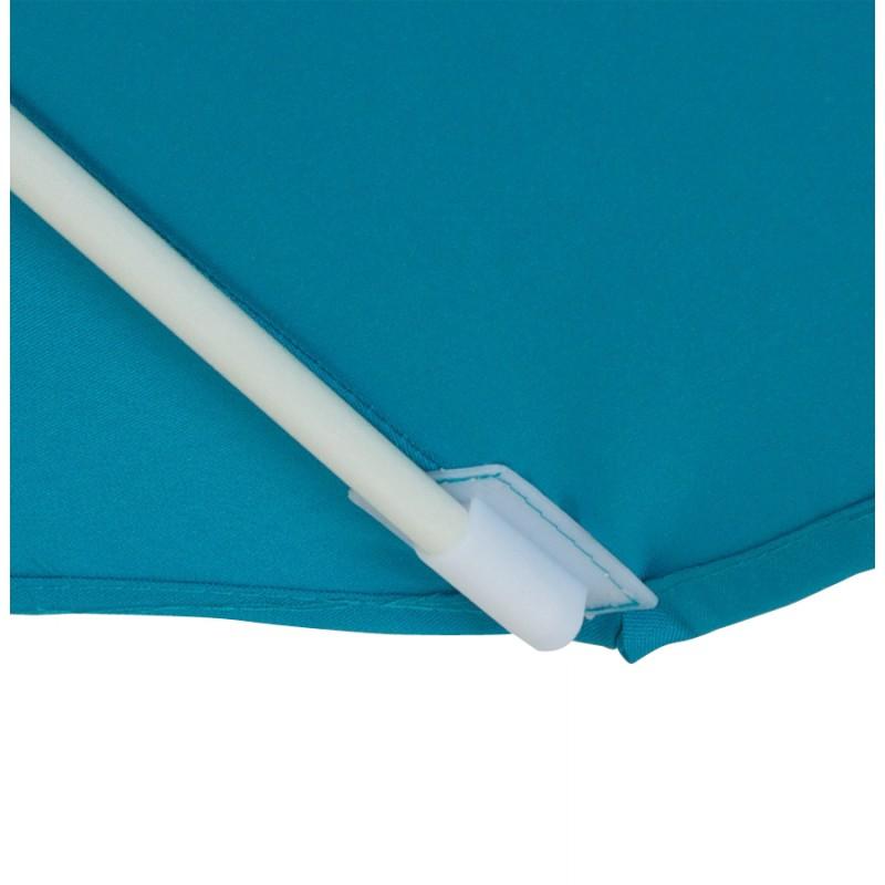 Parasol déporté octogonal ALICE en polyester et aluminium (bleu) - image 29352