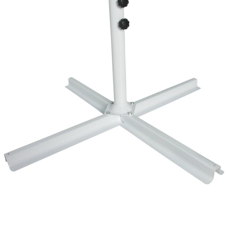 octagonal deported parasol alice in polyester and aluminum. Black Bedroom Furniture Sets. Home Design Ideas