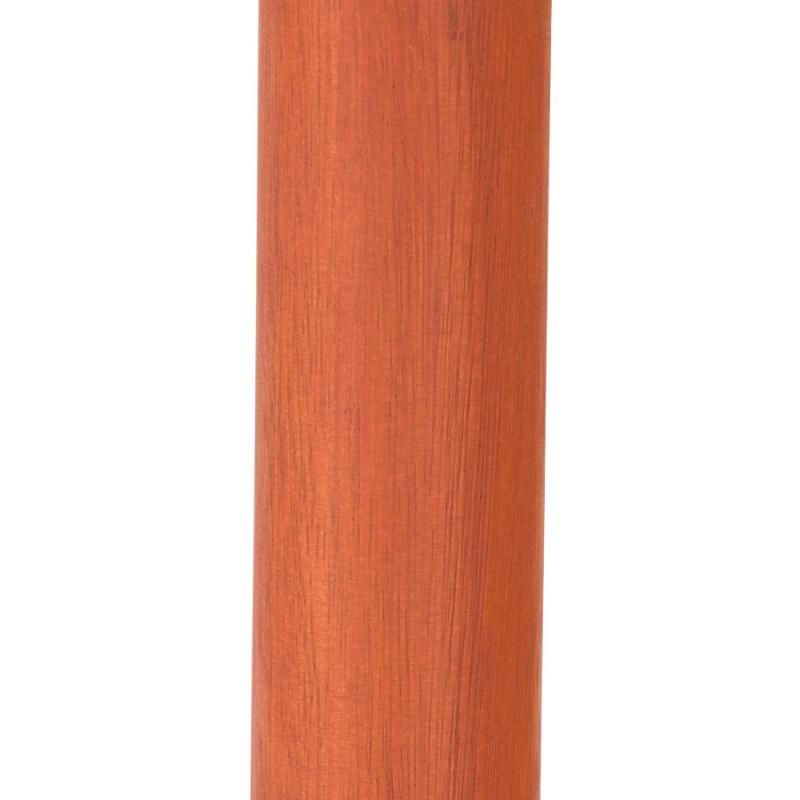 MILOU esagonale parasole in poliestere e legno indonesiano (naturale) - image 29390