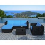 salon-de-jardin-5-places-seville-en-resine-tressee-noir-coussins-bleu