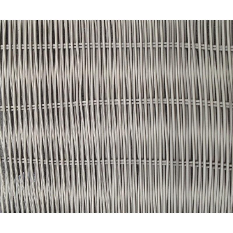 Salon de jardin 4 places JUAN en résine tressée (gris) - image 29983