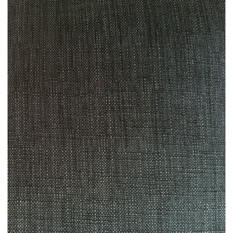 Canapé droit design 3 places MARIO en tissu (gris foncé) - image 30266