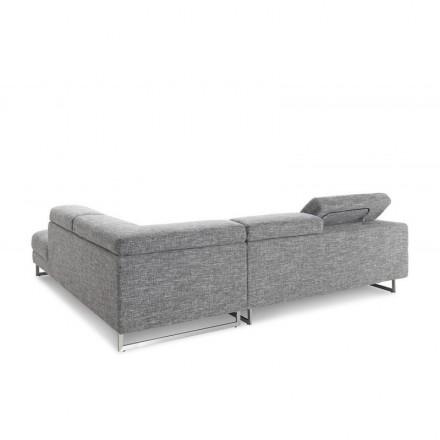 canap d 39 angle c t droit design 5 places avec m ridienne. Black Bedroom Furniture Sets. Home Design Ideas