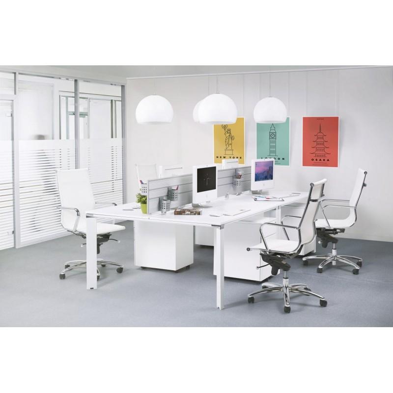 Fauteuil de bureau CRAVE en textile (blanc) - image 30429