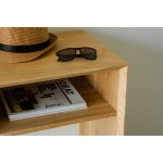 Right Console 3 niches JASON solid oak (natural oak)