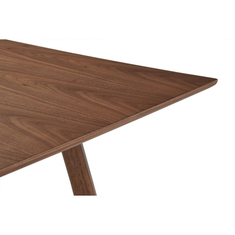 Table manger design loane en bois 200cmx90cmx76cm noyer for Table design 90 cm