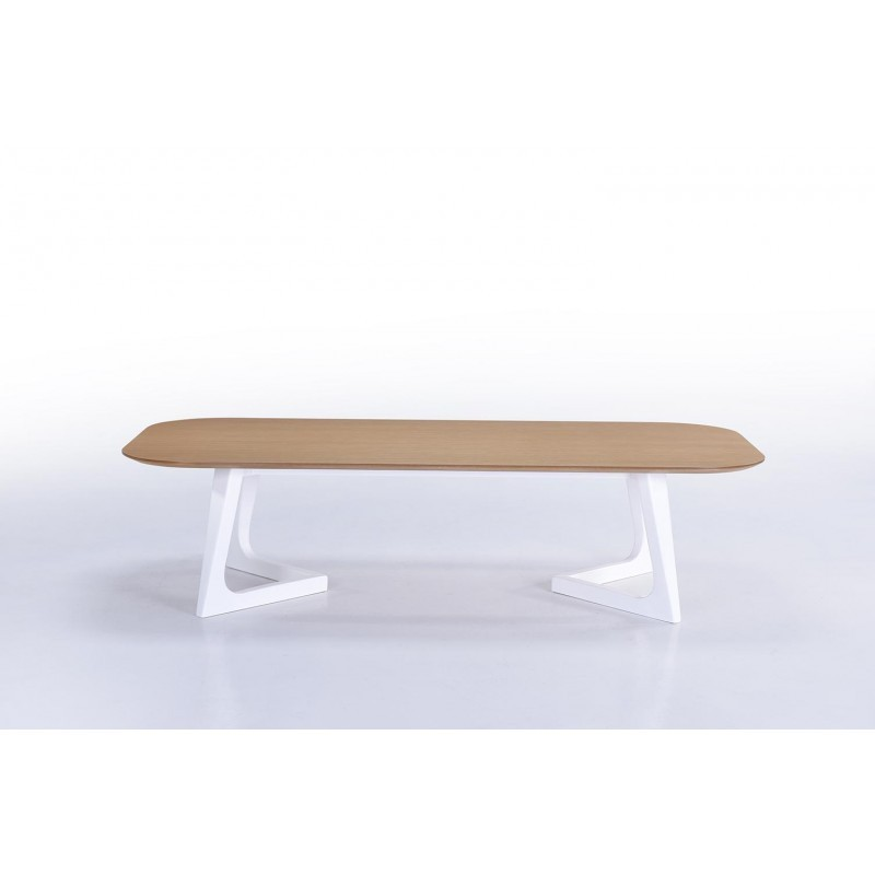 Table basse design et scandinave lug en bois ch ne naturel for Table basse scandinave bois et metal