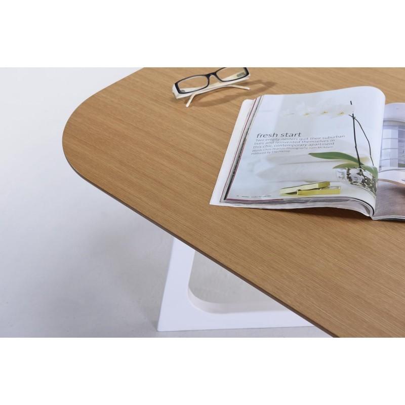 Table Basse Design Et Scandinave Lug En Bois Chêne Naturel