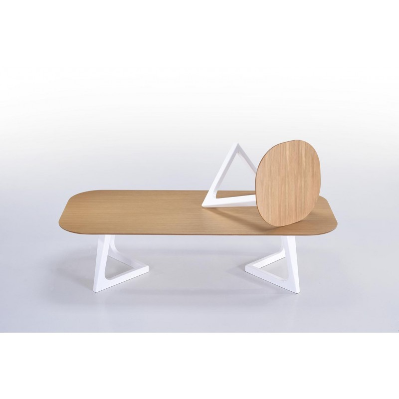 Table d 39 appoint bout de canap design et scandinave lug for Table basse scandinave en chene