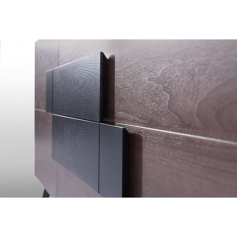 Buffet enfilade 2 portes 2 tiroirs vintage MAGEN en bois (noyer) - image 30642