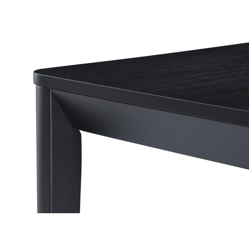 Table à manger design ENZO en bois (180cmX90X75cm) (noir) - image 30650