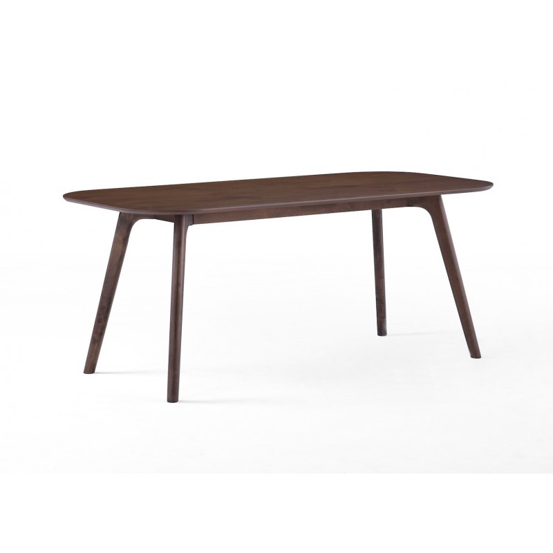 Table manger design corentine en bois 180cmx90x75cm for Table salle manger noyer design
