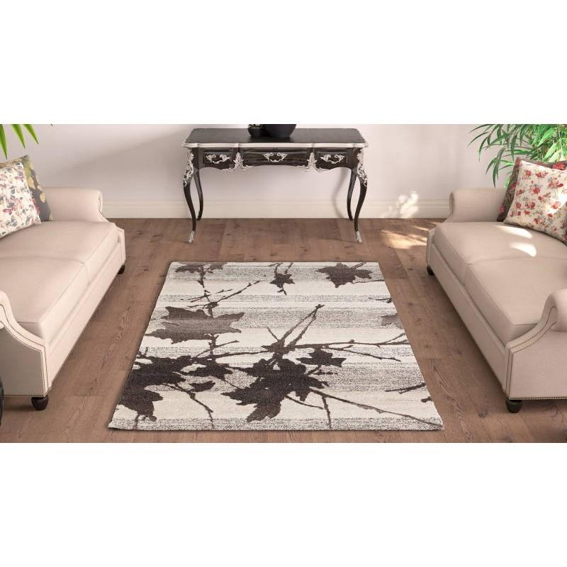 moderno e tappeto fantasia cm 160 X 230 moda moderna GABEH (BEIGE)