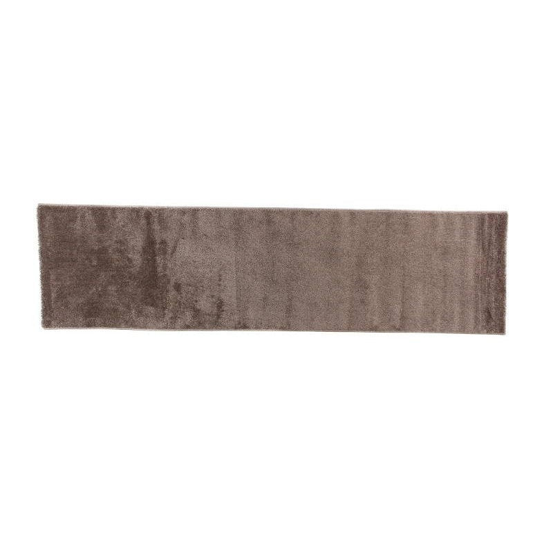 tapis de couloir moderne et fris 80x300 cm modern frise superverso brun. Black Bedroom Furniture Sets. Home Design Ideas