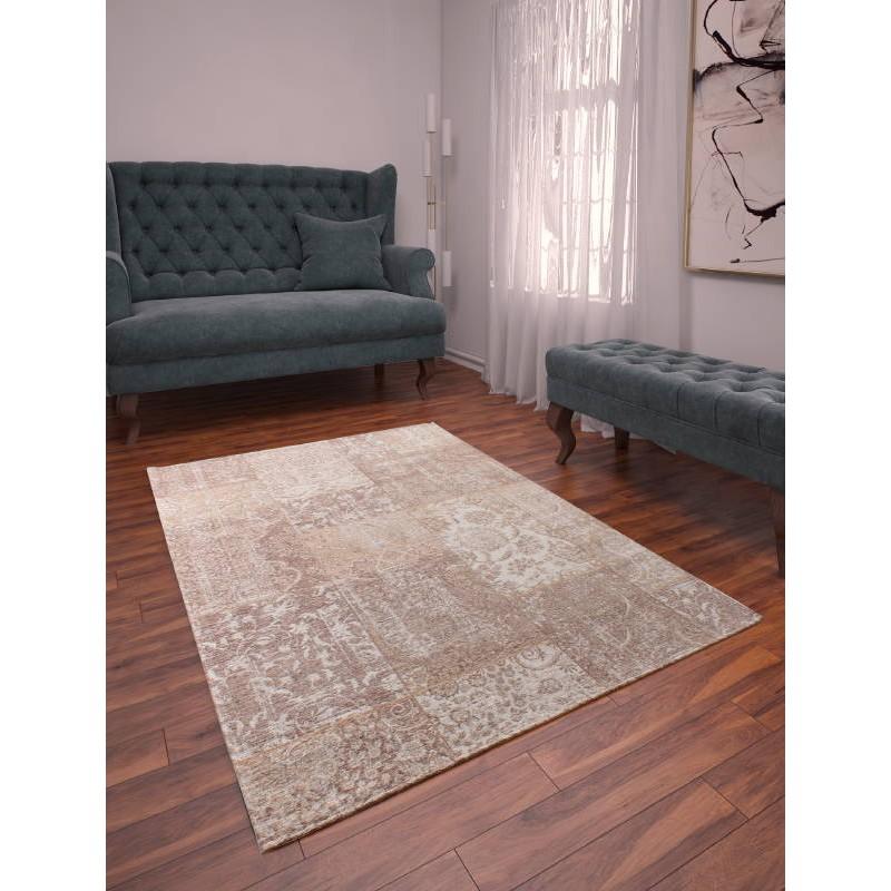 moderne wohnzimmer teppich verwaschen farben 130 x 190 cm. Black Bedroom Furniture Sets. Home Design Ideas