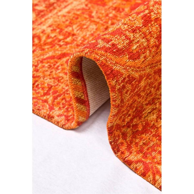 Farben ausgewaschen, 160 X 230 cm BERLIN (ORANGE) moderne Wolldecke