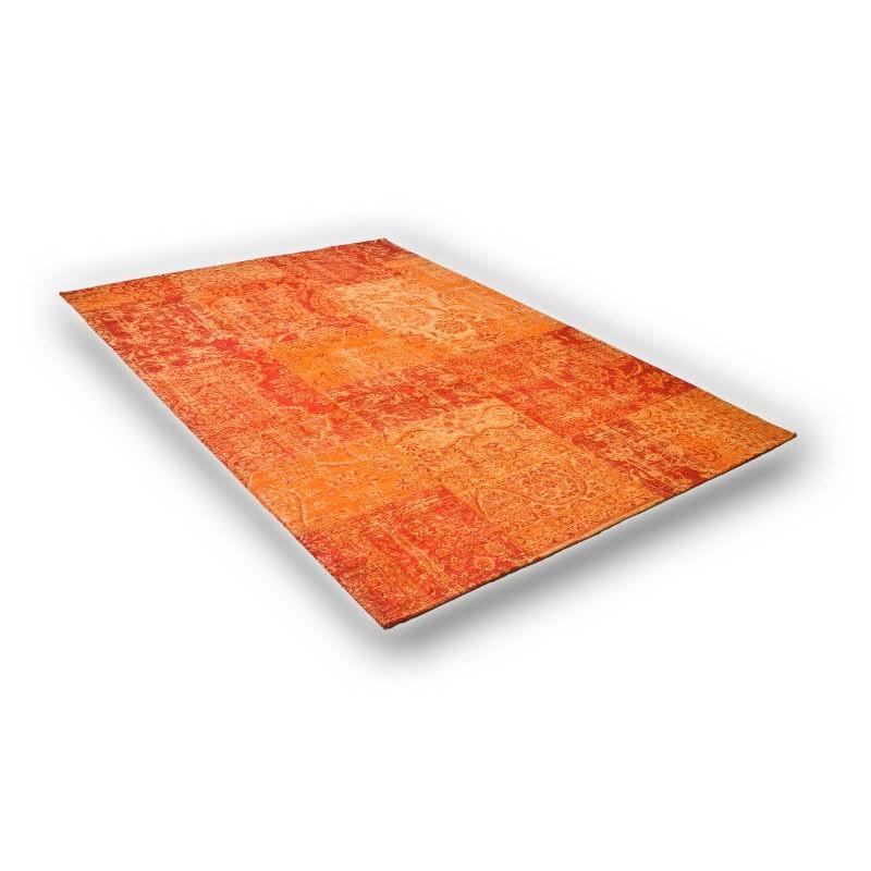 tapis de salon moderne couleurs d lav es 65x230 cm berlin orange. Black Bedroom Furniture Sets. Home Design Ideas