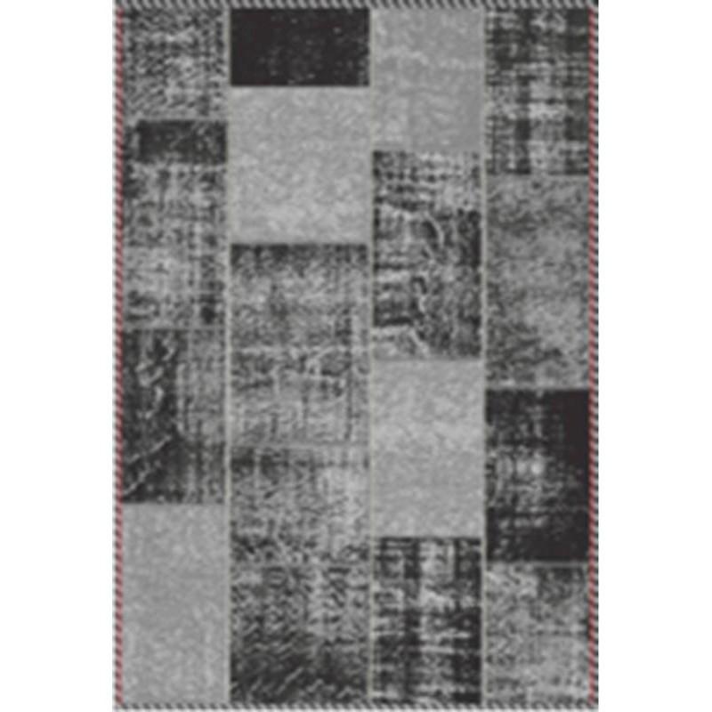 Tapis De Salon Moderne Couleurs D Lav Es 65x230 Cm Berlin Gris Noir