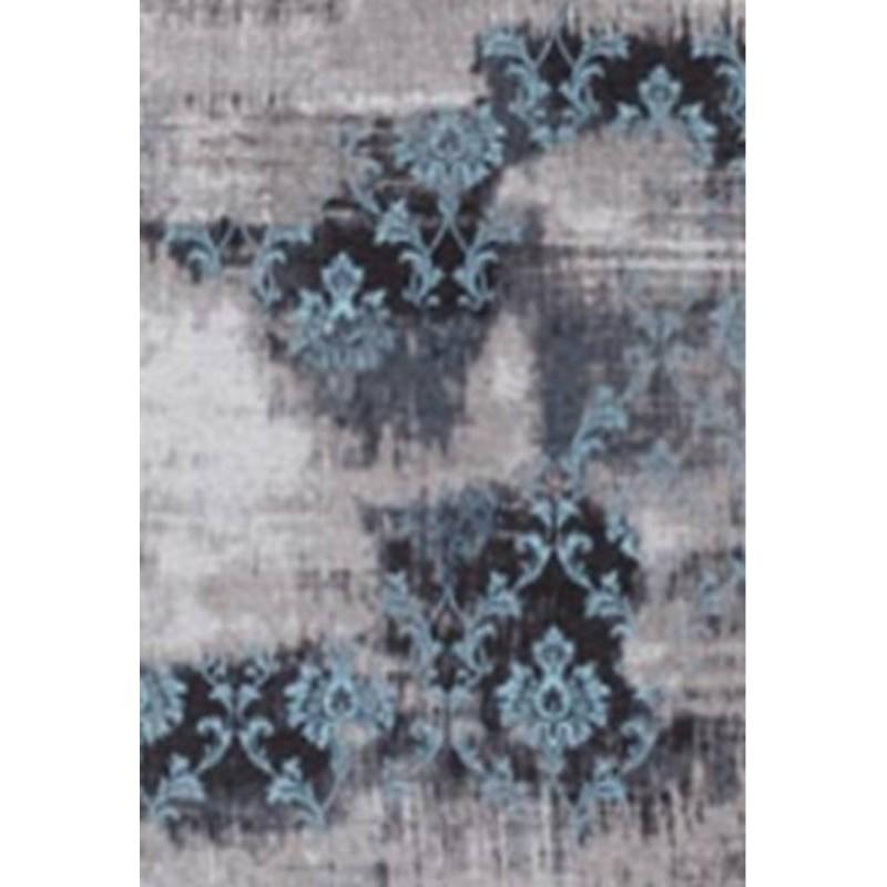 Tapis de salon moderne couleurs d lav es 40x60 cm berlin for Tapis turquoise et gris