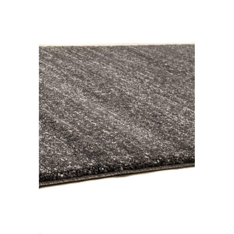 tapis de couloir moderne 80x300 cm modern fashion gabeh gris fonce gris fonce. Black Bedroom Furniture Sets. Home Design Ideas