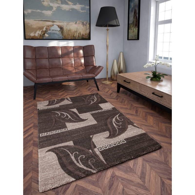 Alfombra sal n moderno y modelado 200 x 290 cm moda - Alfombras salon modernas ...