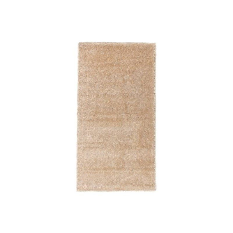 tapis de salon shaggy doux et el gant 80x150 cm shaggy moon beige clair. Black Bedroom Furniture Sets. Home Design Ideas