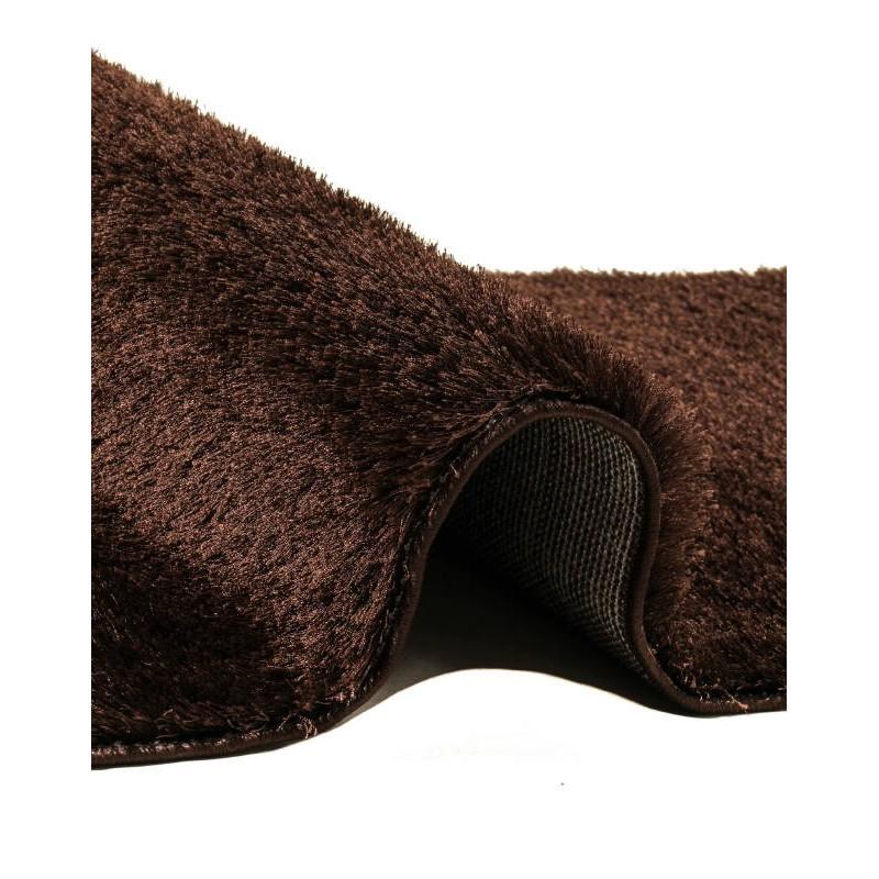 teppich shaggy weichen gang 80 x 300 cm zottigen mond braun. Black Bedroom Furniture Sets. Home Design Ideas