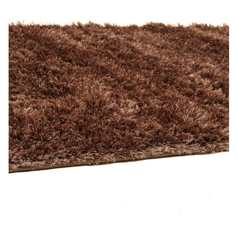 tapis de couloir shaggy doux 80x300 cm shaggy moon beige fonce. Black Bedroom Furniture Sets. Home Design Ideas