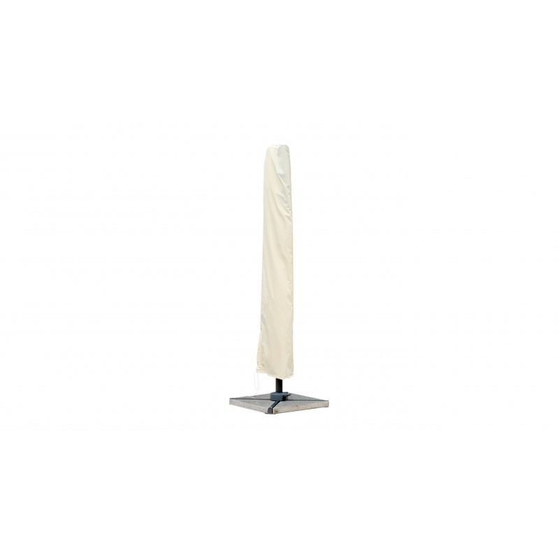 Parasol deported square with ventilation 2.5 m x 2.5 m NIKA (beige) - image 36515