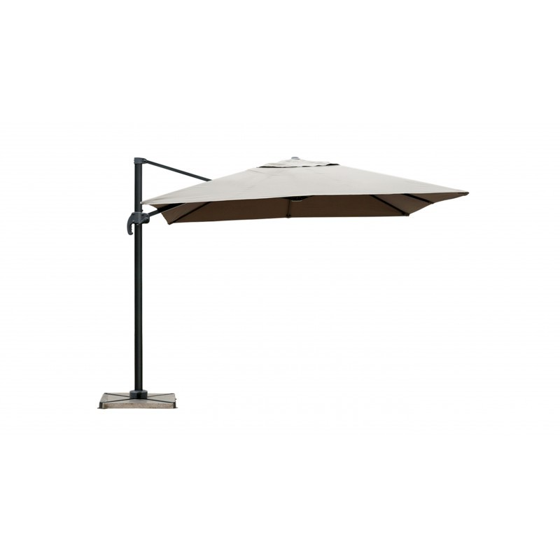 Parasol deported square with ventilation 2.5 m x 2.5 m (mole) NIKA - image 36524