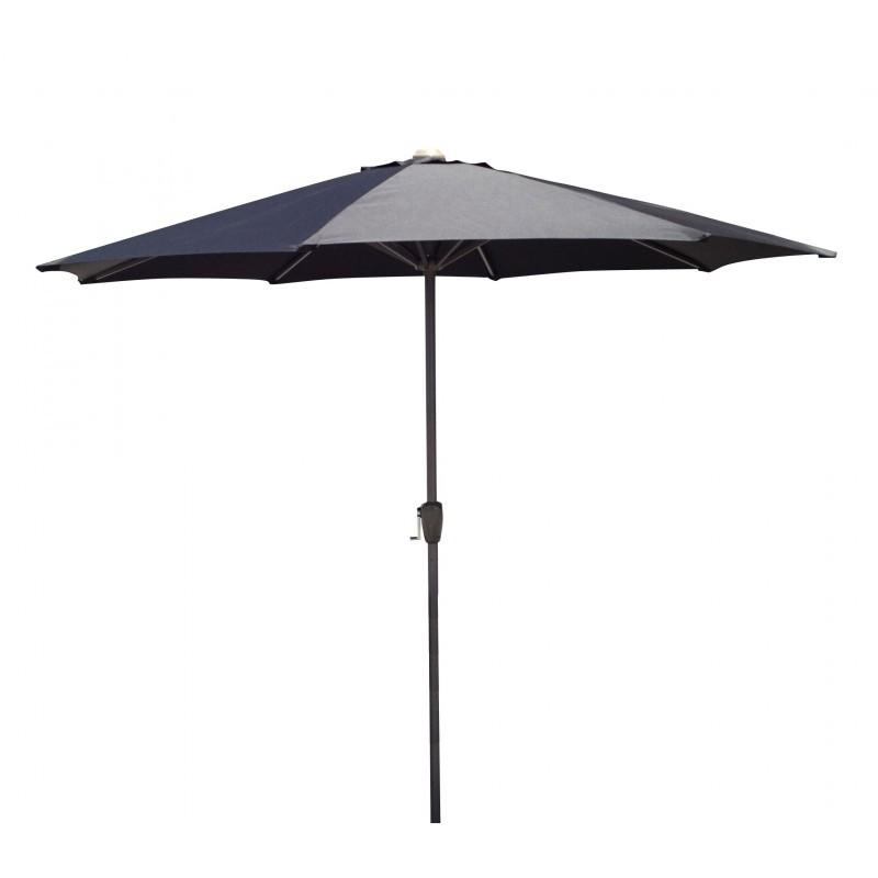 Straight umbrella with ventilation MANYA (black) - image 36591
